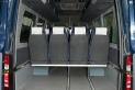 Mikroautobuso Mercedes-Benz bagažinė